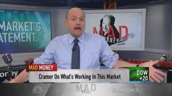 Cramer: Market can rally when things are bad
