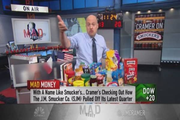 Smucker's a packaged food heavyweight: Cramer