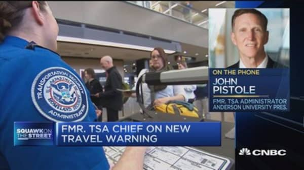 Fmr. TSA Admin: This is where we are least secure