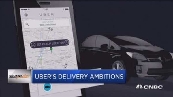 Uber's legal battle and the future of delivery