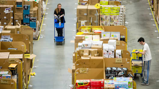 Cyber Monday Breaks Amazon Record