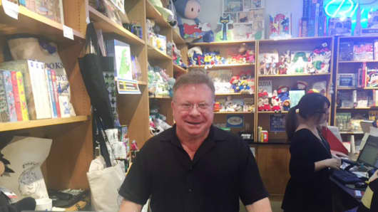 Peter Glassman, owner and founder of New York City-based Books of Wonder, is celebrating 35 years in business.