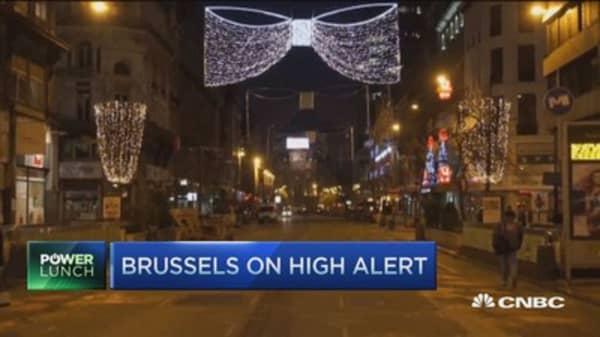 Brussels on high alert as metro reopens