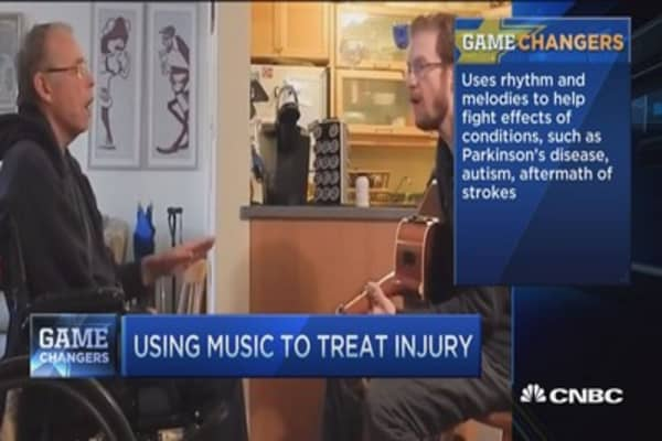 Musical remedy for brain diseases
