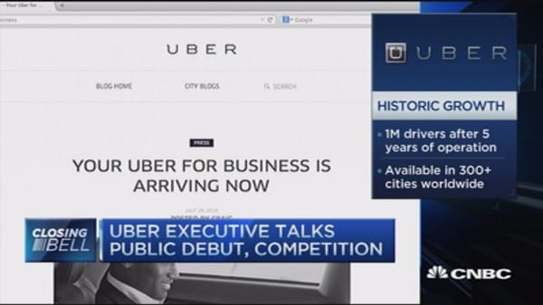 Uber exec: We're learning as we go