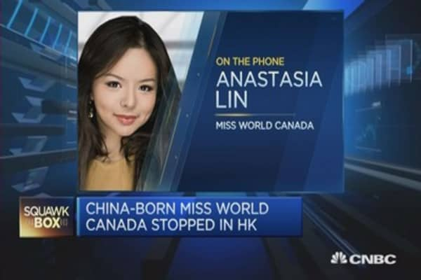 China denies entry to Miss World Canada