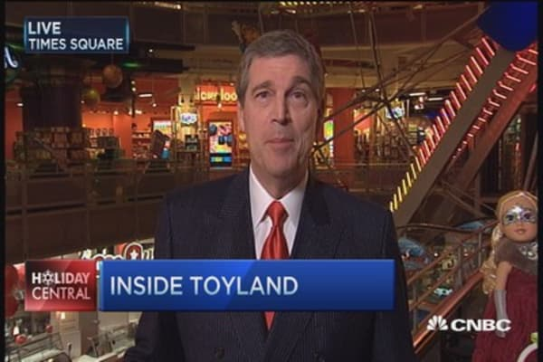 Holiday's hottest toys: Toys R Us CEO