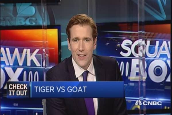Tiger vs. goat