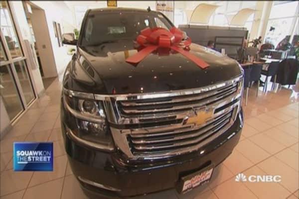Consumers like Trucks, SUVs this Nov.