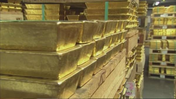 Gold on track for another weekly drop