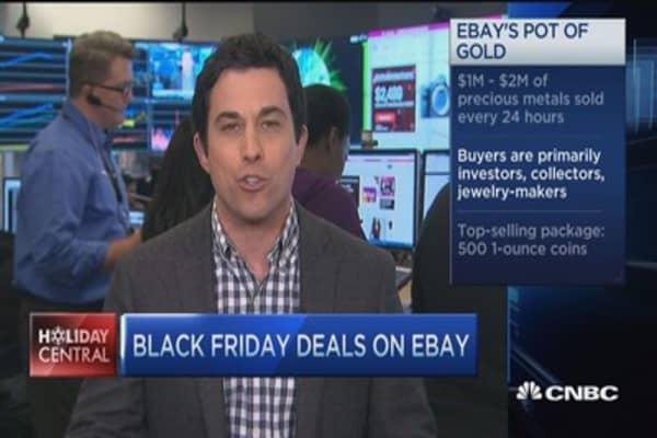 Buyers seek gold (the metal) on eBay