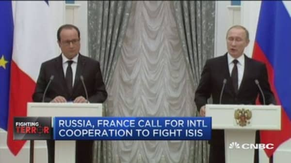 Hollande, Putin and Russia's 'Turkey' trouble