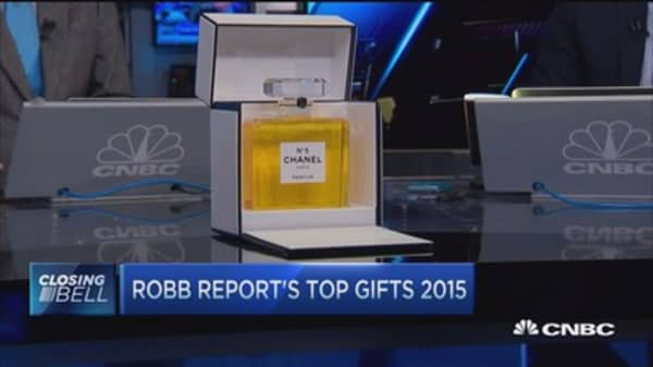 Top 3 ultra-luxury gifts: Robb Report