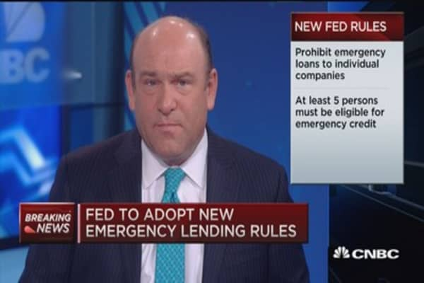 New Fed rules defined