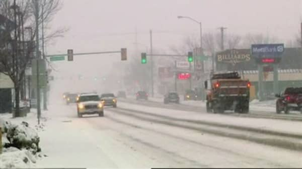Winter Storm Delphi could bring up to a foot of snow