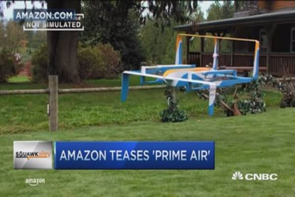 How long until drones are actually delivering packages?