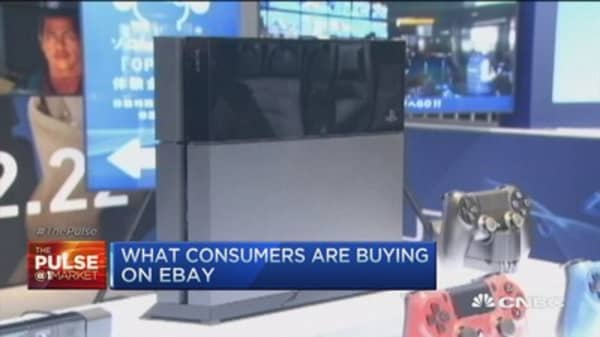 What are consumers buying on eBay?