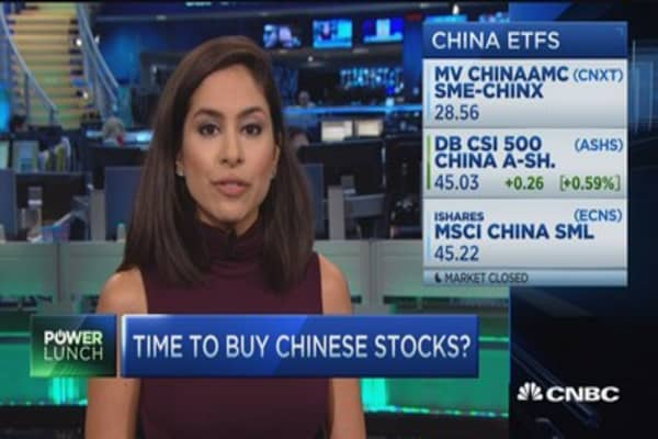 Does the IMF yuan move make Chinese stocks more attractive?