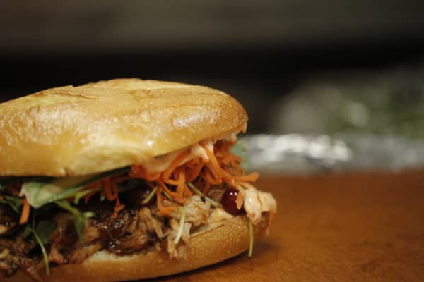 Hoisin BBQ Turkey Sandwich, Num Pang