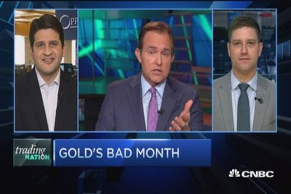 Trading Nation: Gold gets worse