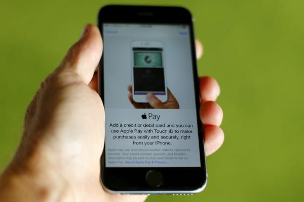 Apple Pay app on an iPhone
