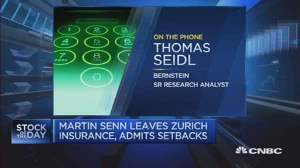 RSA bid didn't prompt Zurich CEO departure: Analyst