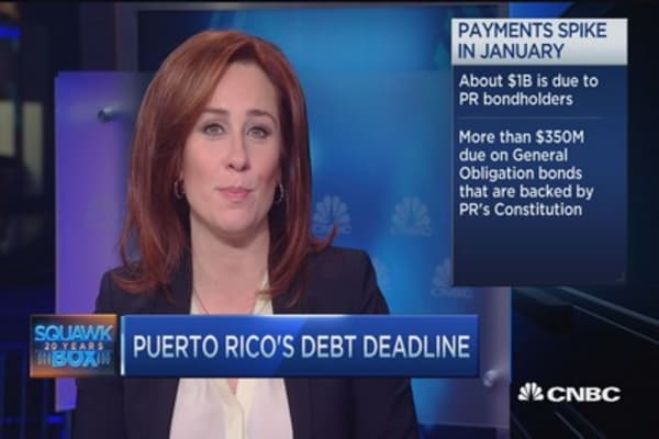 Puerto Rico debt deadline looms
