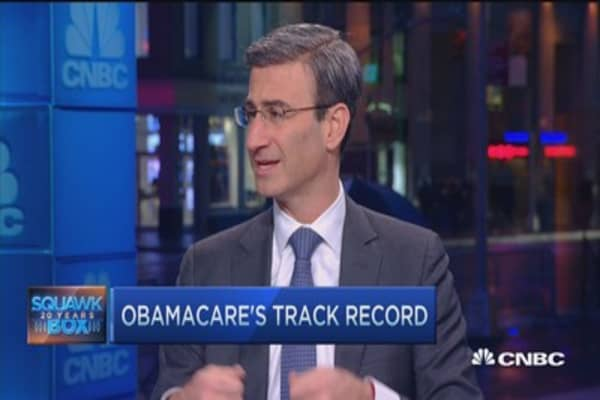 Obamacare 'growing pains': Peter Orszag