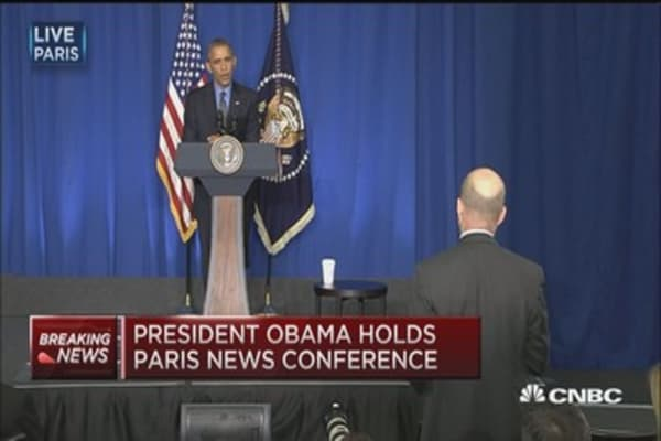 Pres. Obama: We have to 'choke off' ISIS