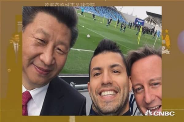 Chinese score Manchester City win