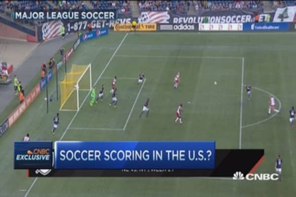 Major League Soccer takes hold in US