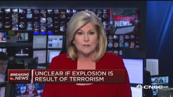 Explosion near Istanbul metro
