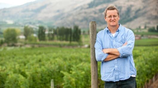 CheckMate Winemaker Philip Mcgahan