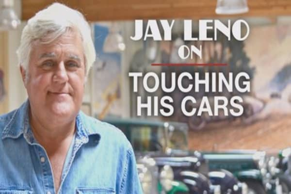 Do not touch Jay Leno's cars ... unless you're a kid