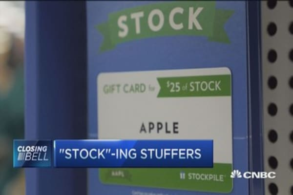 'Stock'-ing stuffers