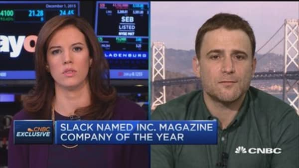The success behind 1.7M daily users: Slack CEO