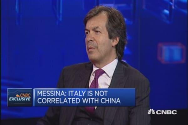 ECB to increase QE next week: Intesa Sanpaolo CEO