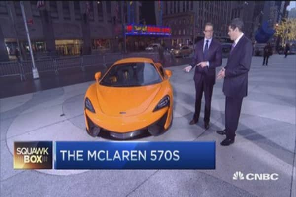 New McLaren 570S arrives in US