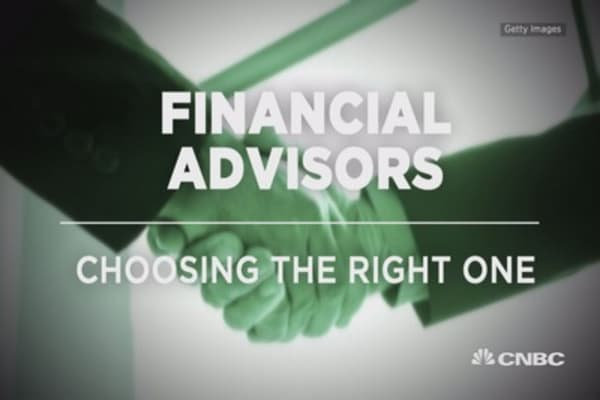 Financial advisors: Choosing the right one