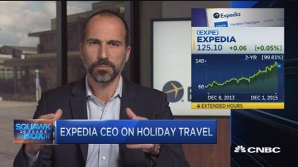 Navigating holiday travel season: Expedia CEO