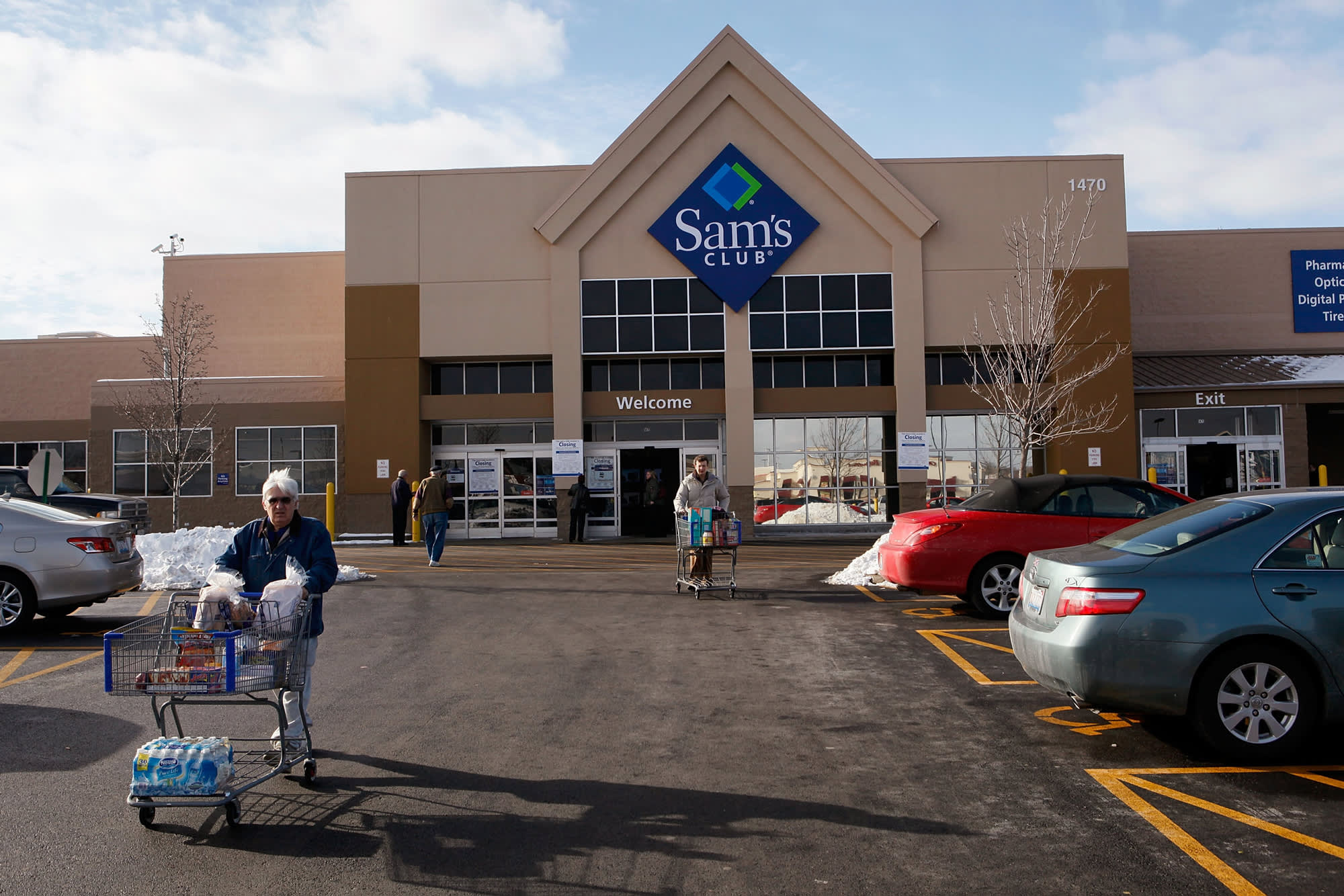 Heres A List Of Where Walmart Is Closing More Than 60 Sams Club Stores
