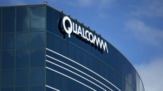 One of the Qualcomm buildings in San Diego, California.