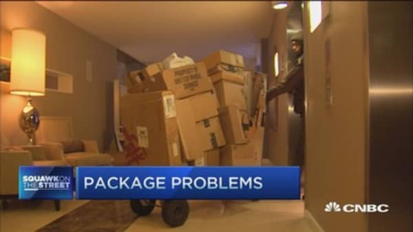 The 'no package' policy sweeping apartments