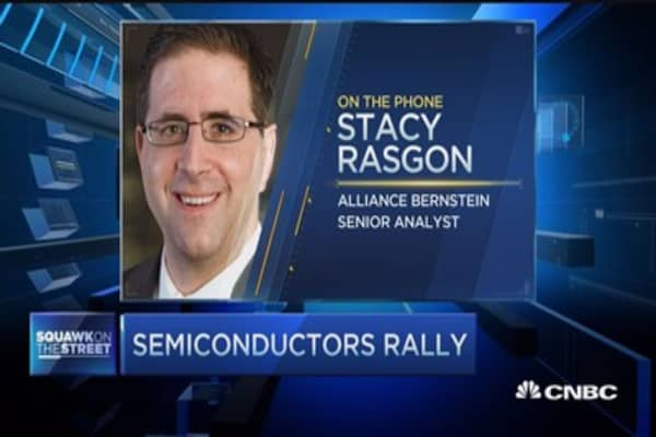 Semiconductor rally to continue?