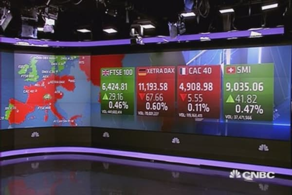 Europe closes mixed; ECB in focus
