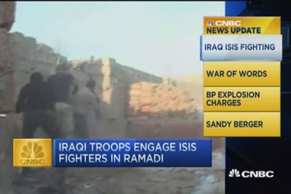 CNBC update: Iraqi troops battle ISIS in Ramadi
