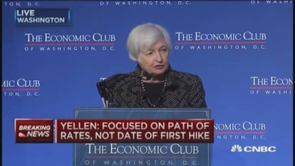 Risks to labor, economy 'close to balanced': Yellen