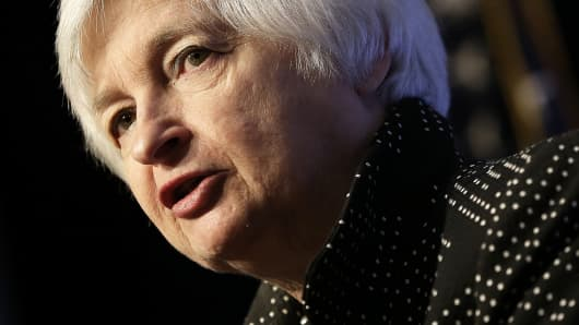 Federal Reserve Board Chair Janet Yellen