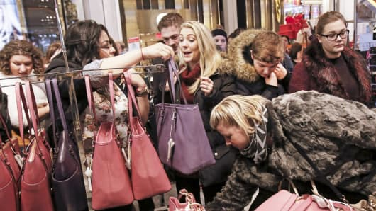 Shopping retail sales Black Friday