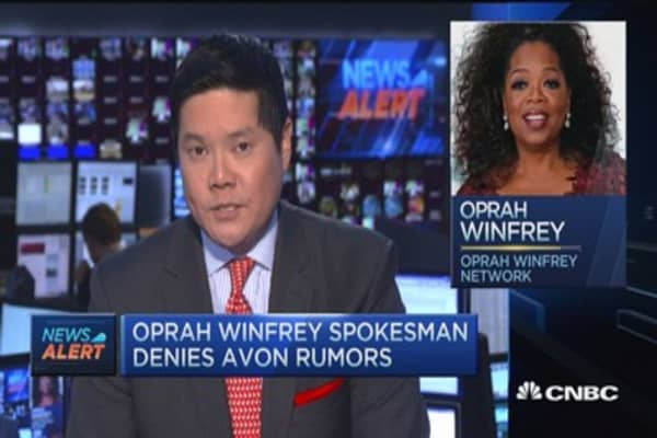 Oprah NOT taking stake in Avon